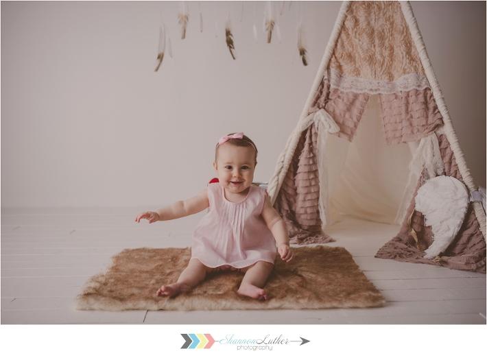 Monroe Louisiana Infant Portrait Photographer
